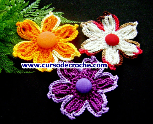 flores croche coleçãoedinir-croche dvd loja cursodecroche