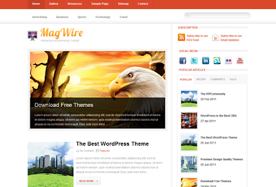 Magwire Wordpress Theme