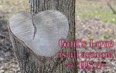 God's Love Heart-shaped Tree