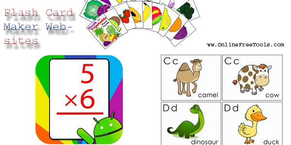 Free Flash Cards Maker Websites That Aren't Ordinary - Online Free ...: www.onlinefreetools.com/2014/08/flash-card-makers.html
