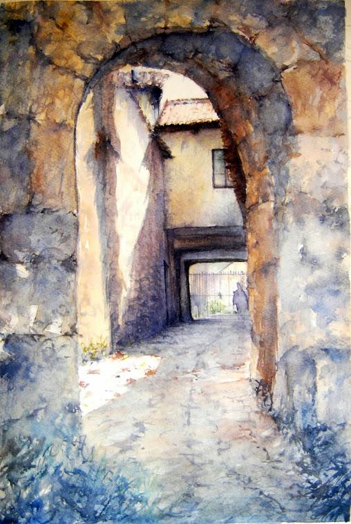 Puerta Postigo. Mansilla de las Mulas. León.
