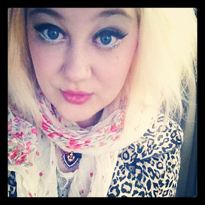 Girl With Black Eyeliner