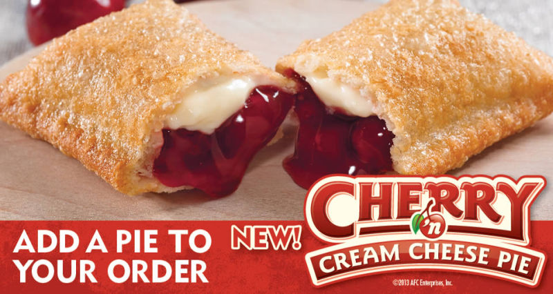 News: Popeyes - New Cherry and Cream Cheese Pie | Brand Eating