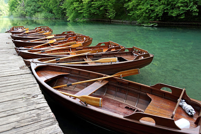 Boat, Sailing, Water, River, Oars