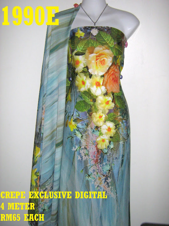 CP 1990E: CREPE EXCLUSIVE DIGITAL PRINTED, 4 METER