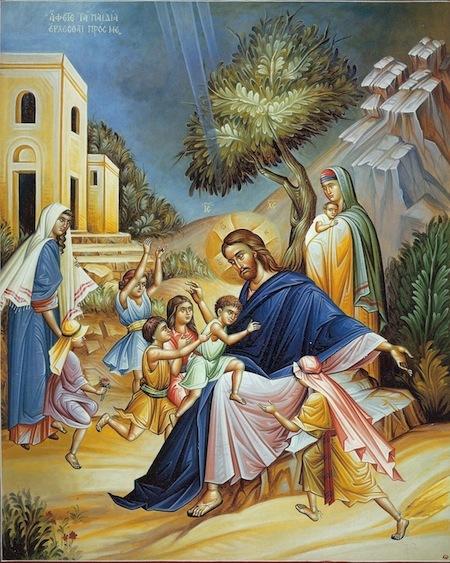Jesus and Children dans immagini sacre CHRIST_AND_CHILDREN_copy__82690.1409482677.490.588