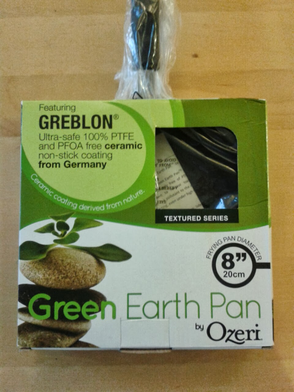 Review Ozeri Green Earth 20 Cm 8 Quot Textured Frying Pan