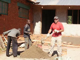 building a library in Tanzania