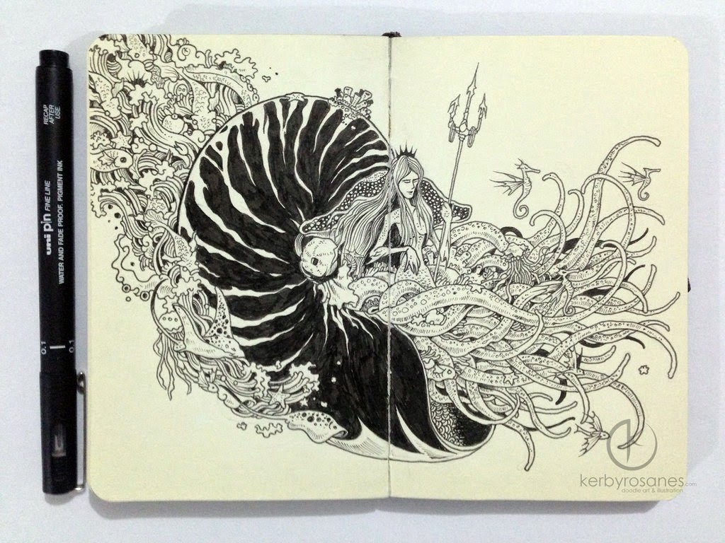 12-Nautilus-Sketchy-Stories- Kerby-Rosanes-www-designstack-co
