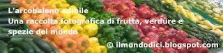 Una raccolta fotografica di frutta, verdura e spezie del mondo