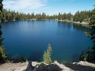 Sadow Lake en Lassen Volcanic Park