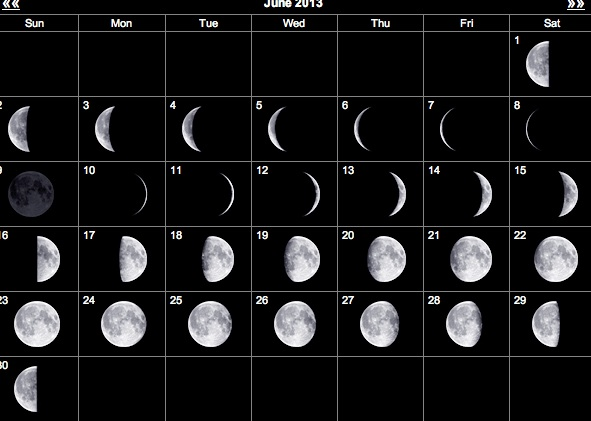how many full moons in a month - photo #2