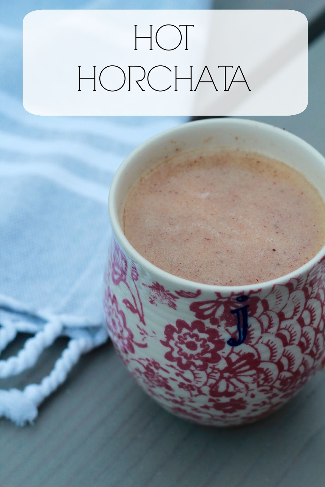 Hot Horchata