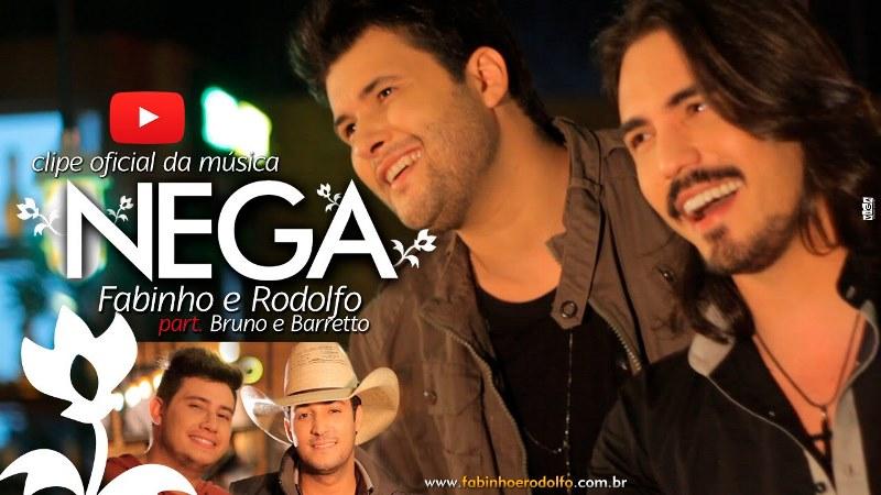 Fabinho e Rodolfo - Nega  Part. Bruno e Barretto