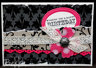 Material Monday Steam Punk Inspired Card