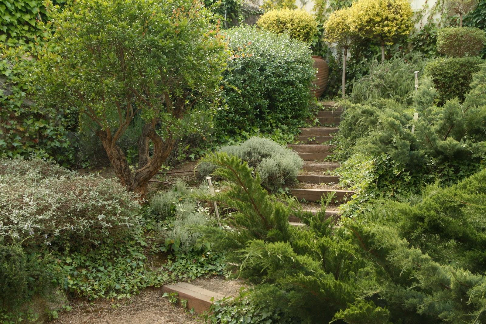 Jardinitis jard n con desniveles - Disenador de jardines ...