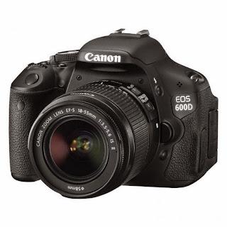 Spesifikasi dan Harga Kamera Canon EOS 600D
