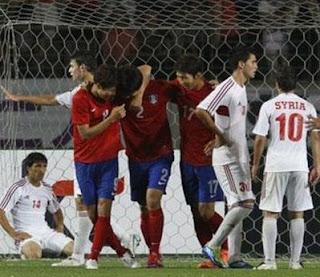 اهداف مباراة كوريا الجنوبية ولبنان 3-0 في تصفيات كأس العالم 12-6-2012