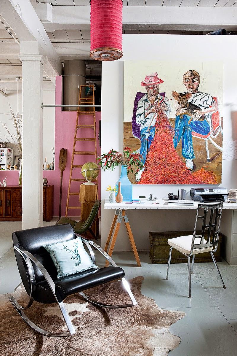 Vintage-Freuden in Brooklyn – stylische Einrichtung im Loft