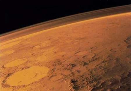 kehidupan planet mars