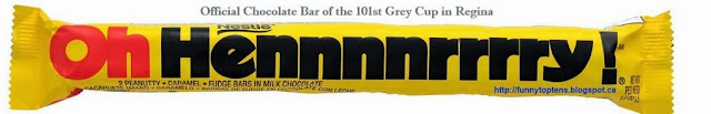 Unofficial Chocolate Bar of the #101GC Grey Cup