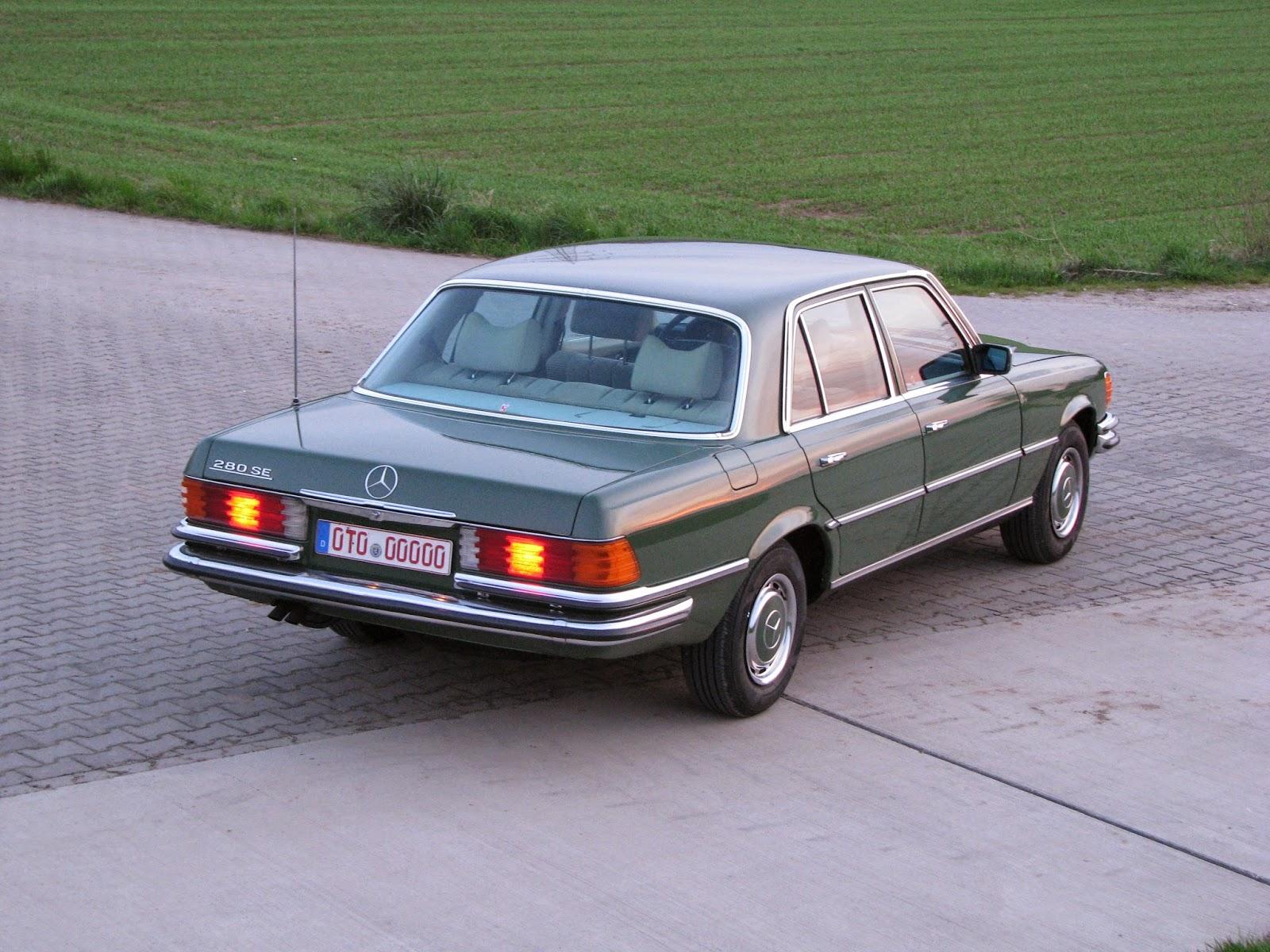 Mi blog de coches cl sicos mercedes benz 280 sel w116 for Mercedes benz rental pittsburgh