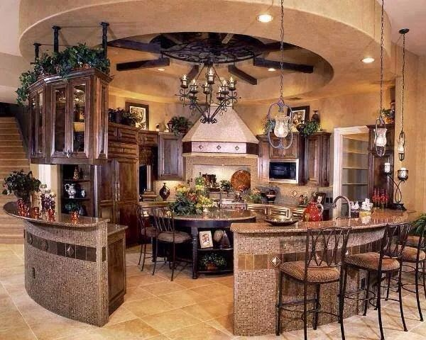 Fotos de dise o de cocinas circulares muy originales for Comedores circulares modernos