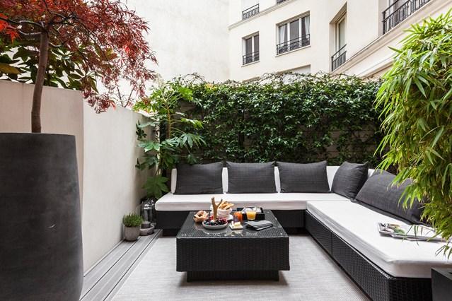 Terraza en París