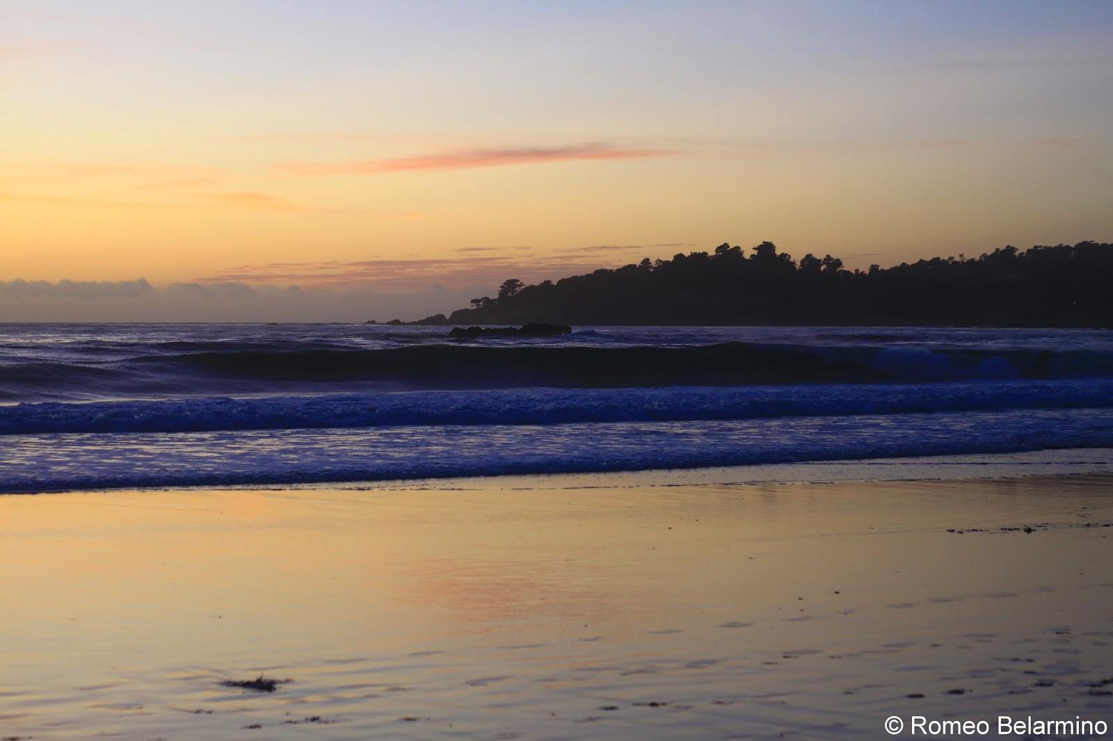 Carmel Beach at Sunset Carmel-by-the-Sea Weekend Getaway