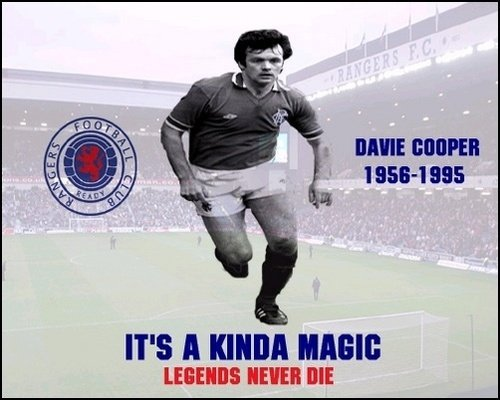 Davie Cooper, It's a kind magic