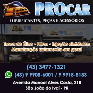 PRO CAR - SEU CARRO MERECE ESSE CUIDADO