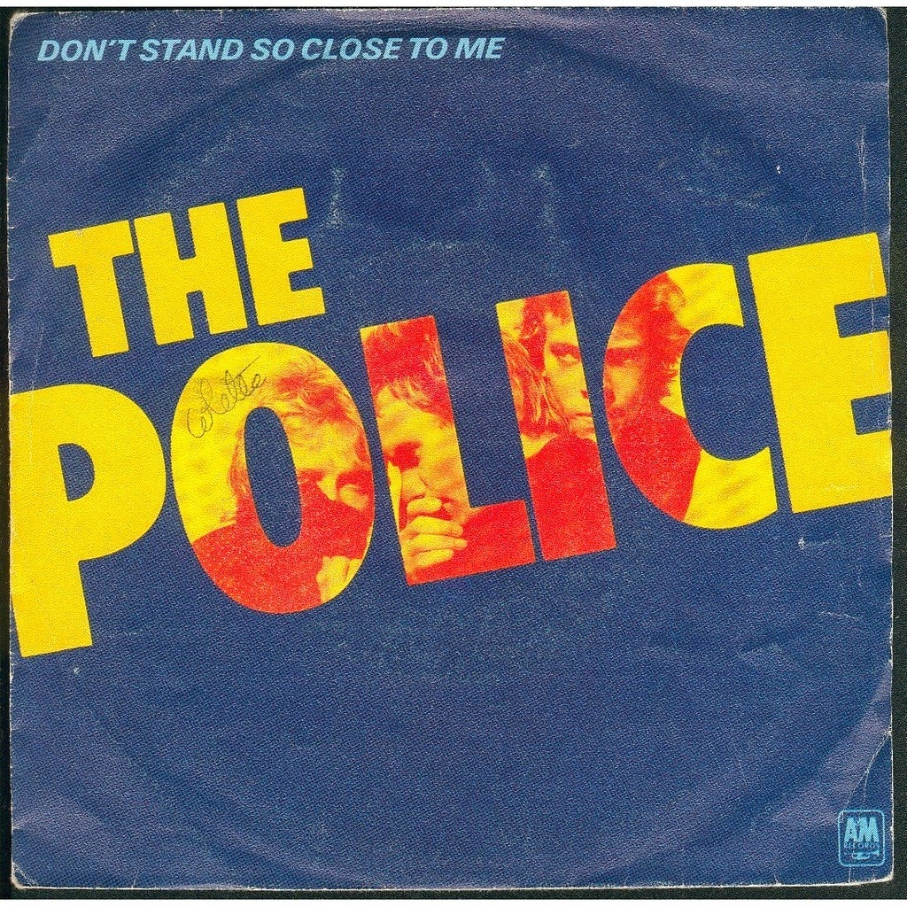 #TBT: The Police - Don't Stand So Close to Me | Ses Rêveries