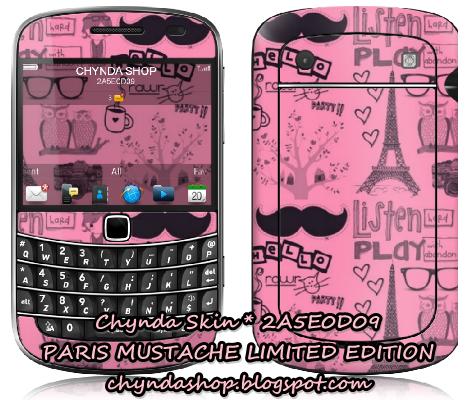 Chynda Shop by Suci Nanda: ♥ Garskin Skin Protector Paris Mustache