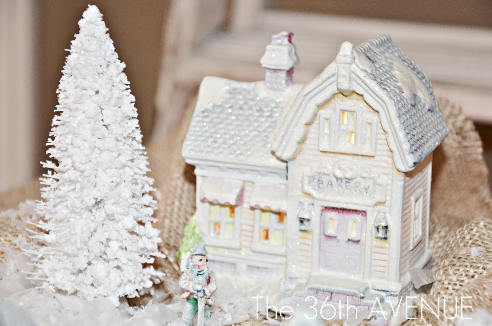 DIY Dollar Store Christmas Village - The 36th AVENUE