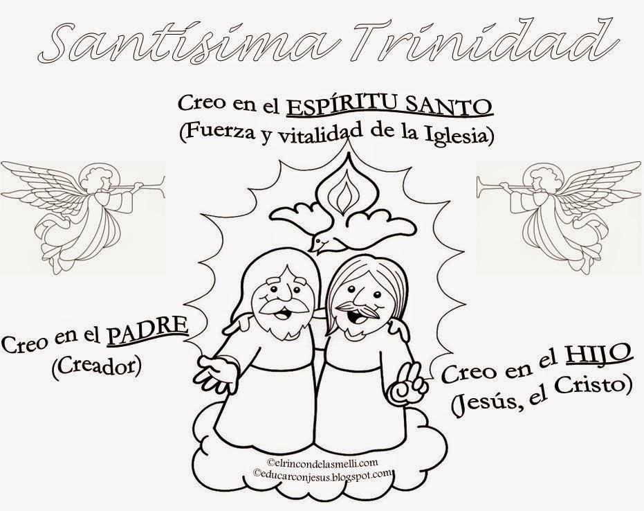 Educar con Jesús: La Trinidad, 3 personas 1 solo DIOS