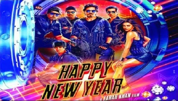 Happy New Year 2014 Movie Poster