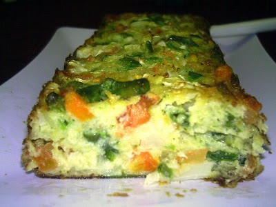 Torta de legumes light