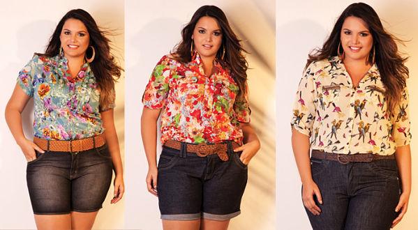 Blusas para mujeres plus size