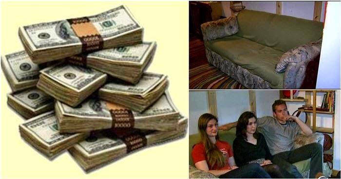 طلاب يعثرون على 40000 دولار داخل أريكة مستعملة - هل تتخيل ما فعلوه بالمال ؟!