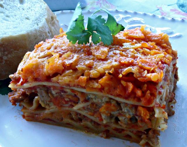 The Big Giant Food Basket: Yummy Taco Lasagna