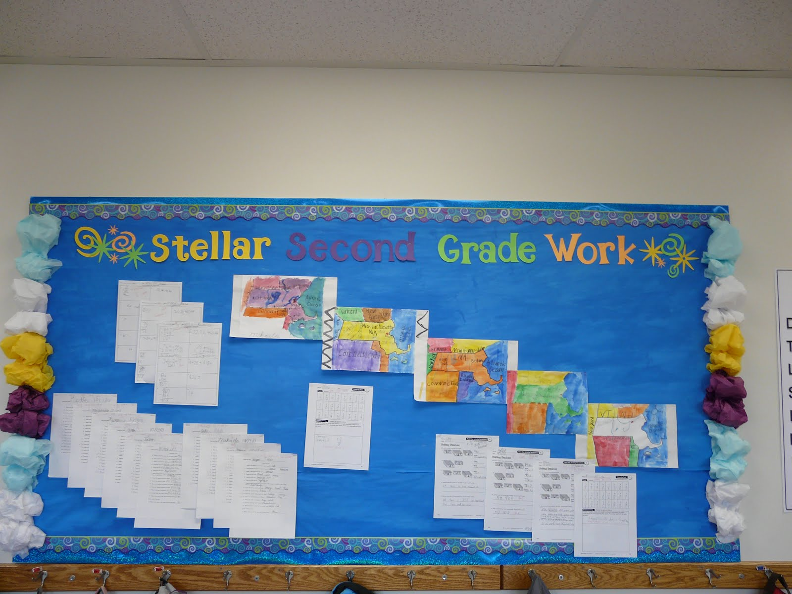 Step Into Second Grade Classroom Tour