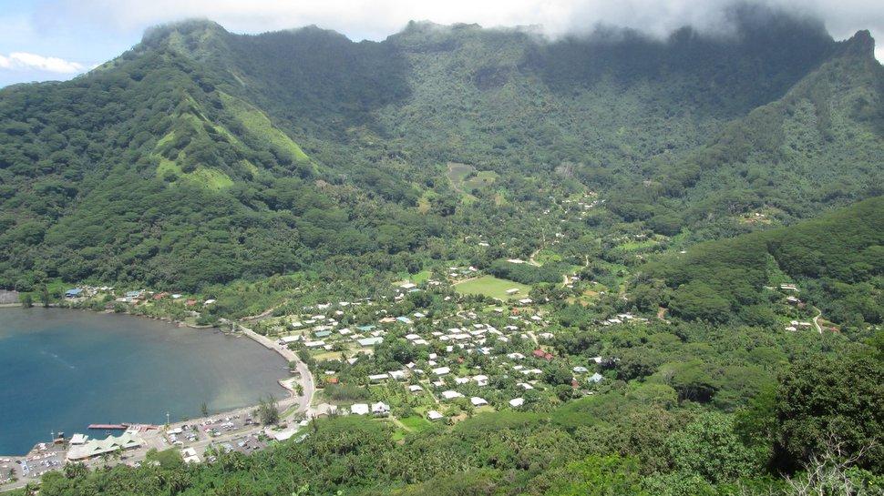 Vallée de Vaiare à Moorea - Polynésie française