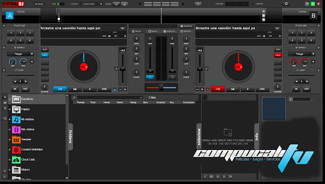Atomix Virtual DJ Pro 8.0 Full Español + Portable