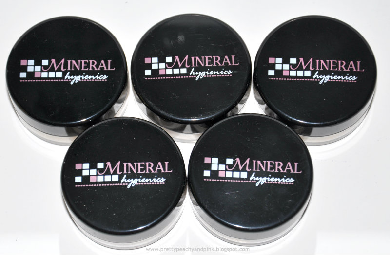 Mineral hygienic mineral makeup