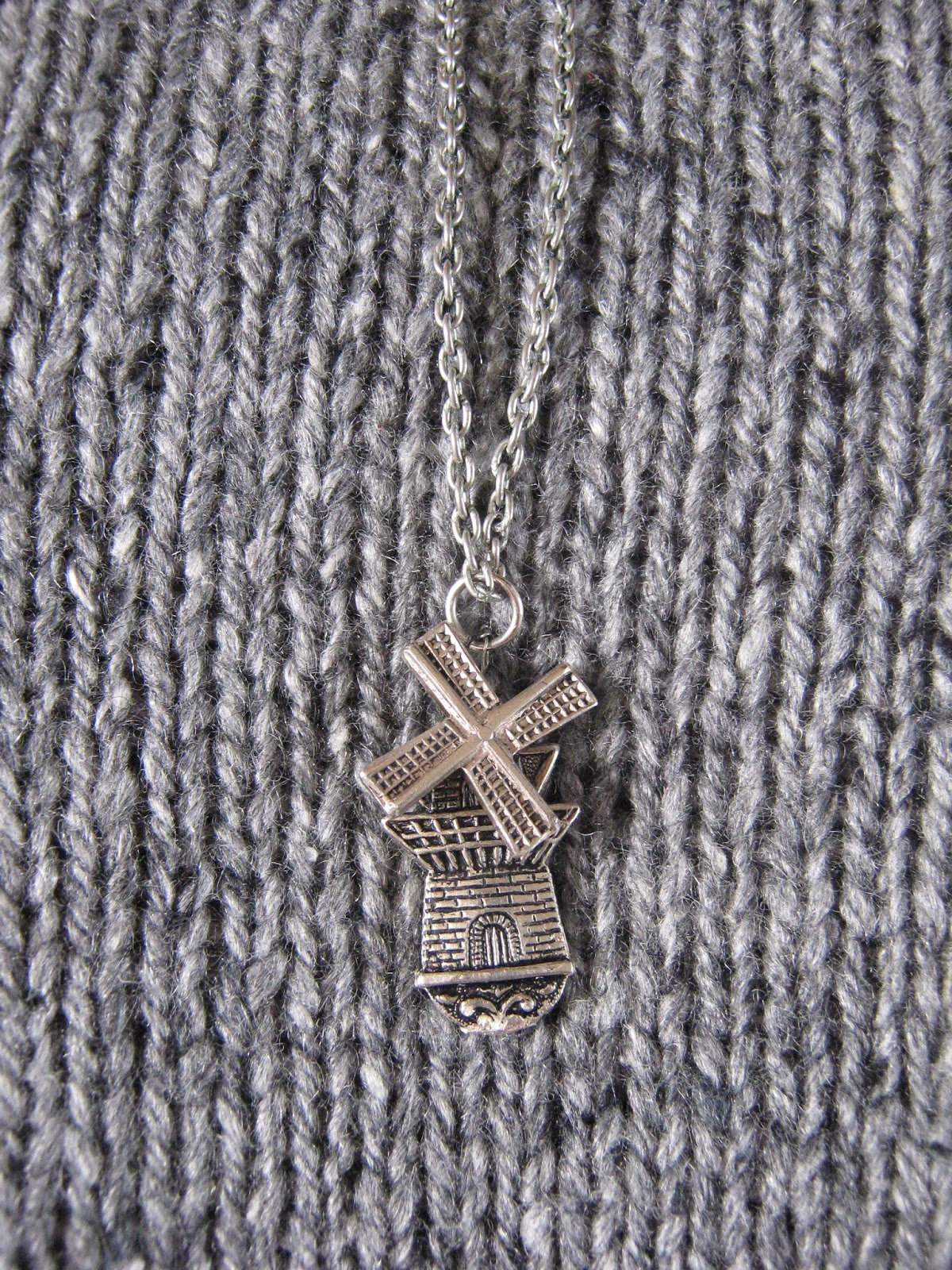 Windmill Spoon Necklace
