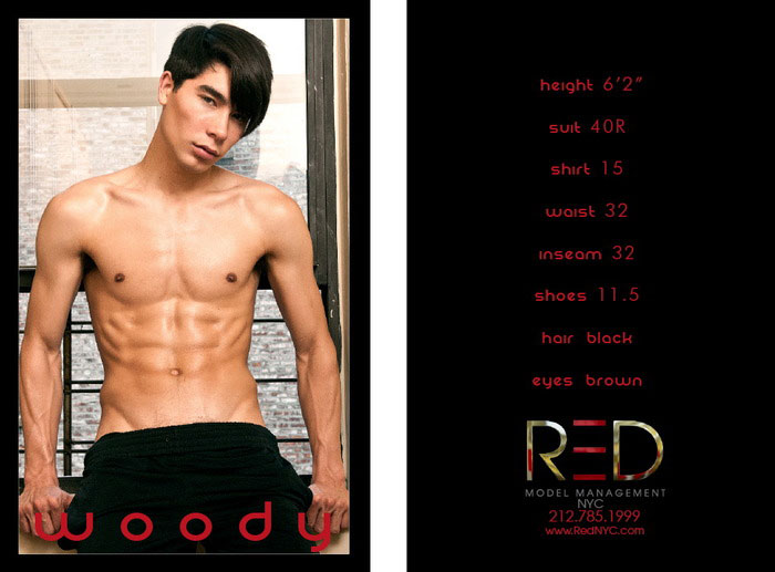New York F W 13 14 Show Package Red Models Fashionopher