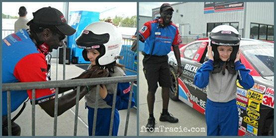 Richard Petty Junior Ride Along - Getting Ready To Ride