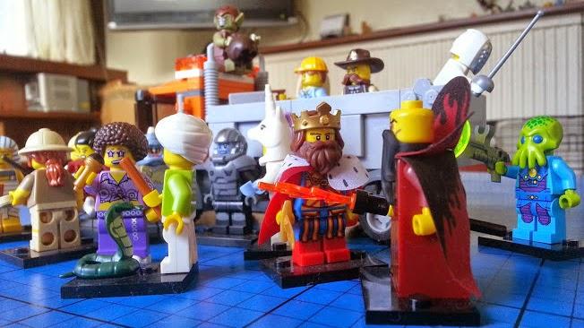 LEGO Minifigures series 13 snake charmer king evil emperor zurg