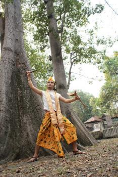 batik tulis madura kuning