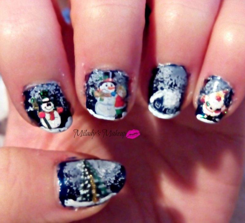 Gran reto de la Navidad 4 *Paisaje Navideño* | **Milady Make Up**